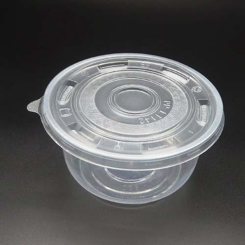 带盖透明餐碗